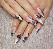 Наращивание ногтей (гель),  художественная роспись,  маникюр!!