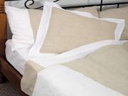комплекты постельного и столового белья