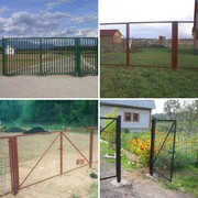 Садовые ворота и калитки  с бесплатной доставкой Орша