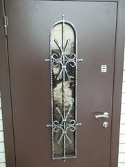 Входные двери утеплённые не стандарт от производителя под ключ.