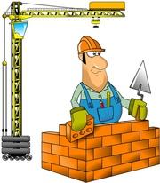 требуются рабочие-строители .